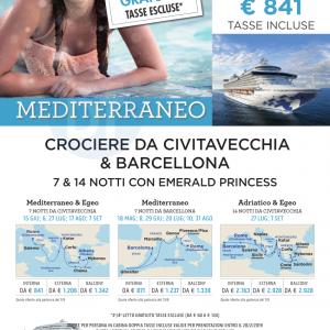 crociere mediterraneo 2019