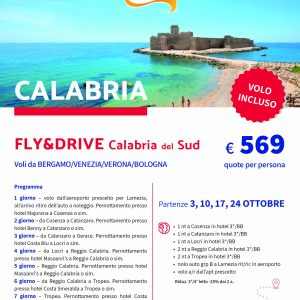 Calabria Fly and Drive