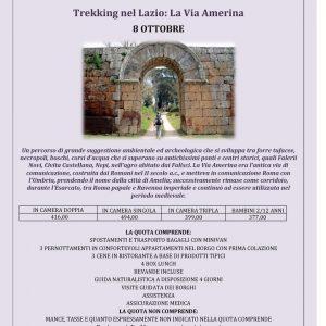 Trekking nel Lazio - La Via Amerina