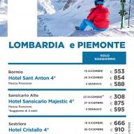 Settimana Bianca in Piemonte & Lombardia