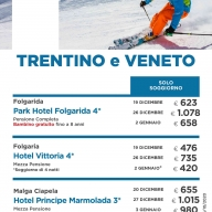 Settimana Bianca in Trentino & Veneto