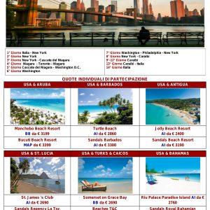 Tour Stati Uniti + Mare Caraibi