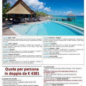 Polinesia - Viaggi di Nozze 2021